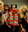KEEP CALM knock on heavens door - Personalised Poster A1 size