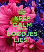 KEEP CALM  LAATSTE LOODJES LIES!  - Personalised Poster A1 size