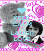 KEEP   CALM LIVE LAUGH LOVE - Personalised Poster A1 size