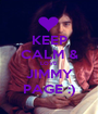 KEEP CALM & LOVE JIMMY PAGE :) - Personalised Poster A1 size