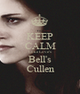 KEEP CALM Luke Love's Bell's Cullen - Personalised Poster A1 size