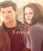 KEEP CALM Luke Love's Forever  - Personalised Poster A1 size