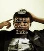 KEEP CALM Luke Love's Luke  - Personalised Poster A1 size