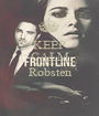 KEEP CALM Luke Love's Robsten  - Personalised Poster A1 size