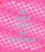 KEEP CALM MACEY'S IN CHARGE - Personalised Poster A1 size
