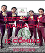 KEEP CALM MARIACHI   IS COMING - Personalised Poster A1 size