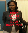 KEEP CALM Meh Man  Is AH Rasta Man - Personalised Poster A1 size