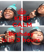 KEEP CALM My Birthday  Is in 3 hours  - Personalised Poster A1 size