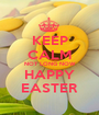 KEEP CALM NOT LONG NOW HAPPY EASTER - Personalised Poster A1 size