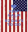 KEEP CALM ONLY 92 DAYS TO GO - Personalised Poster A1 size