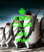 KEEP CALM or we will shot - Personalised Poster A1 size
