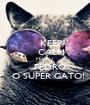 KEEP     CALM   PEDRO       PEDRO   O SUPER GATO! - Personalised Poster A1 size