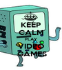 KEEP CALM PLAY VIDEO  GAMES - Personalised Poster A1 size