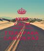 KEEP CALM PORQUE FALTA 7 DIAS PARA  CARLOS PAZ  - Personalised Poster A1 size