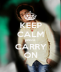 KEEP CALM prince CARRY ON - Personalised Poster A1 size
