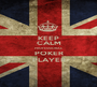 KEEP CALM PROFESSIONAL POKER PLAYER - Personalised Poster A1 size