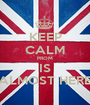 KEEP CALM PROM IS ALMOST HERE - Personalised Poster A1 size