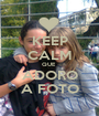 KEEP CALM QUE  ADORO A FOTO - Personalised Poster A1 size