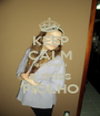 KEEP CALM que chegou a miss PIOLHO - Personalised Poster A1 size