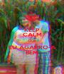 KEEP CALM QUE EU AGARRO-A BEM - Personalised Poster A1 size