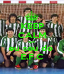 KEEP CALM que  eu sou do  E.F.C - Personalised Poster A1 size