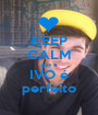 KEEP CALM que o IVO é perfeito - Personalised Poster A1 size