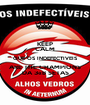 KEEP CALM QUE OS INDEFECTIVEIS ARE THE CHAMPIONS DA 3«B SETAS - Personalised Poster A1 size