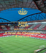 KEEP CALM Que para o ano A final da Champions  É na Luz! - Personalised Poster A1 size