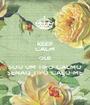 KEEP CALM QUE SOU UM TIPO CALMO SENAO TIPO CALO-ME - Personalised Poster A1 size