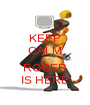 KEEP CALM  ROGER IS HERE - Personalised Poster A1 size