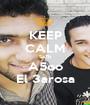 KEEP CALM Sa7b A5oo El 3arosa - Personalised Poster A1 size