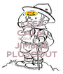 KEEP CALM, SCOUT WITH  JIMBOB PLUSCOUT - Personalised Poster A1 size