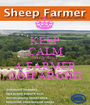 KEEP CALM SHES JUST A FARMER OOH ARGHH - Personalised Poster A1 size