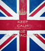 KEEP CALM SI ARDE`O AIUREA ASE` CA IN VACANTA:> - Personalised Poster A1 size