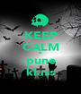 KEEP CALM si pune klass - Personalised Poster A1 size