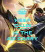KEEP CALM sly4199 IS THE AD CARRY - Personalised Poster A1 size