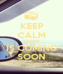 KEEP CALM SUMMER  IS COMING SOON - Personalised Poster A1 size