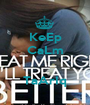 KeEp CaLm   TaArIq - Personalised Poster A1 size