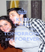 KEEP CALM than YESTERDAY, TODAY  TOMORROW  and FOREVER - Personalised Poster A1 size