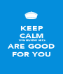 KEEP CALM THE BURNT BITS ARE GOOD FOR YOU - Personalised Poster A1 size