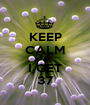 KEEP CALM TODAY  I GET 37 - Personalised Poster A1 size