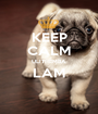 KEEP CALM ULITHEMBA LAM  - Personalised Poster A1 size