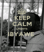 KEEP CALM UMENYE IBYAWE   - Personalised Poster A1 size