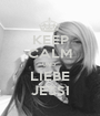 KEEP CALM UND  LIEBE JESSI - Personalised Poster A1 size