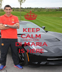 KEEP CALM UNITED FANS DI MARIA IS HERE - Personalised Poster A1 size