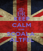 KEEP CALM VINE SCOALA  ALTFEL - Personalised Poster A1 size