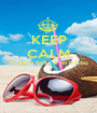 KEEP CALM Visagiste Rafika is on holiday   - Personalised Poster A1 size