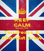 KEEP CALM we are The Tendresse & Chocolat Crew - Personalised Poster A1 size
