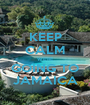 KEEP CALM WE'RE GOING TO JAMAICA - Personalised Poster A1 size