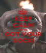 KEEP CALM WE'VE GOT YOUR SOCK! - Personalised Poster A1 size